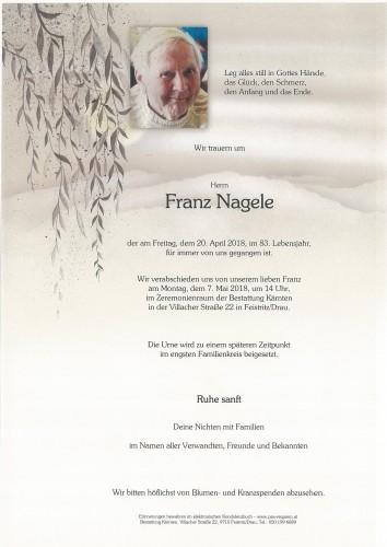 Franz Nagele
