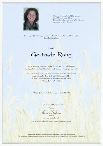 Gertrude Rung
