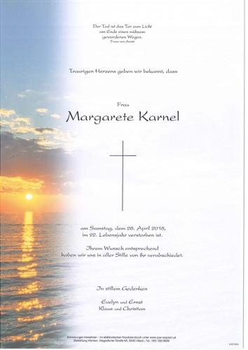 Margarete Karnel