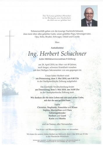 Ing. Herbert Schachner