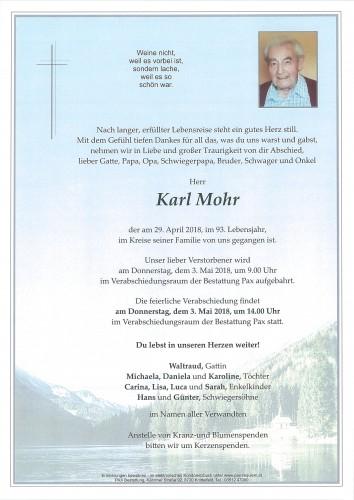 Karl Mohr