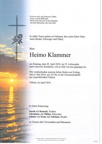 Heimo Klammer