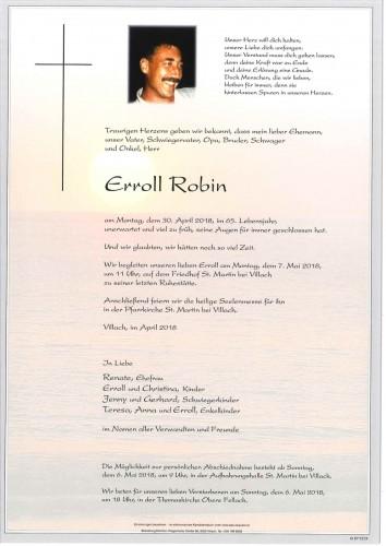 Erroll Robin