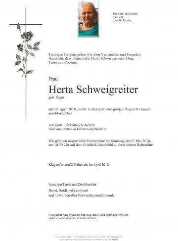 Herta Schweigreiter