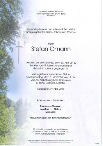 Stefan Omann