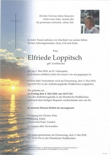 Elfriede Loppitsch