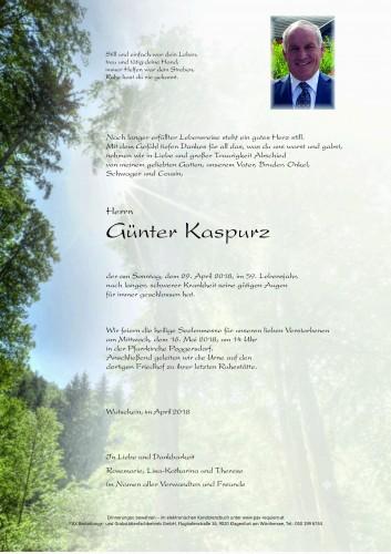 Günter Kaspurz