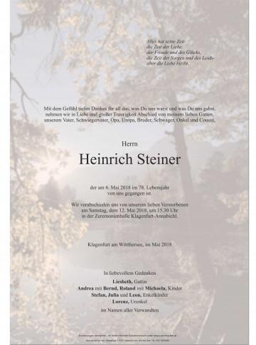 Heinrich Steiner