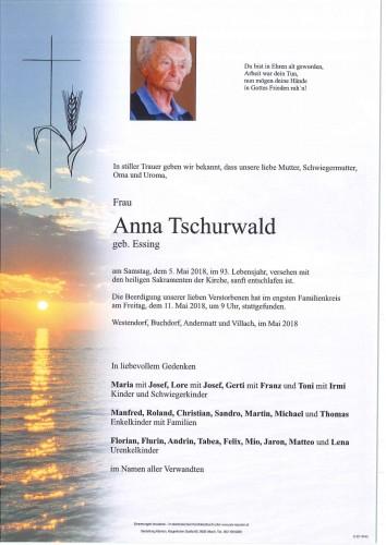Anna Tschurwald