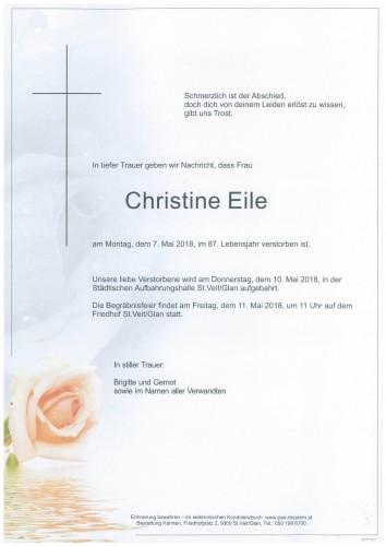 Christine Eile