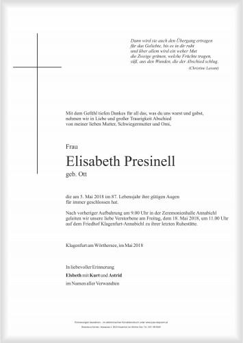 Elisabeth Presinell