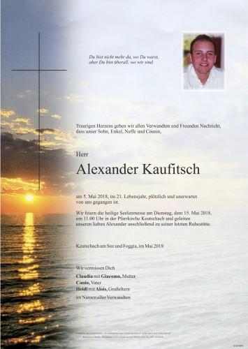 Alexander Kaufitsch