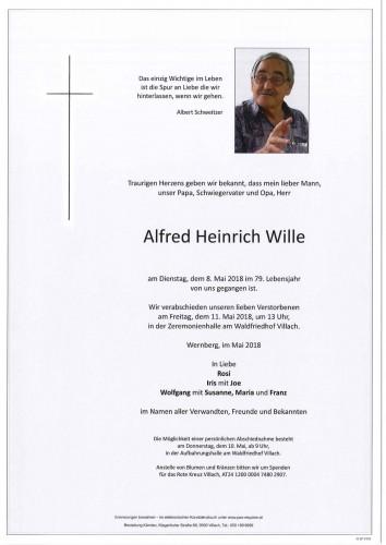 Alfred Heinrich Wille