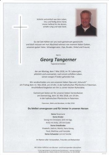Georg Tangerner