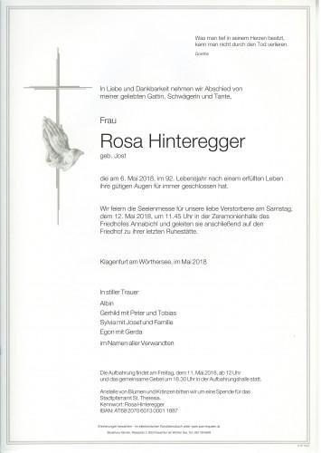 Rosa Hinteregger
