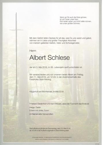 Albert Schlese