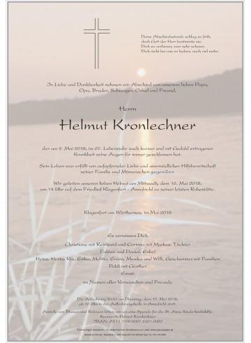 Helmut Kronlechner