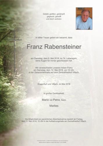 Franz Rabensteiner
