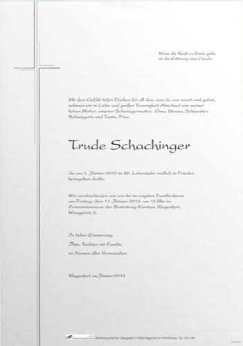 SCHACHINGER Waltrude