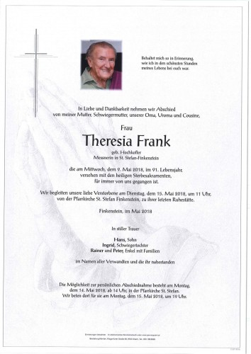 Theresia Frank