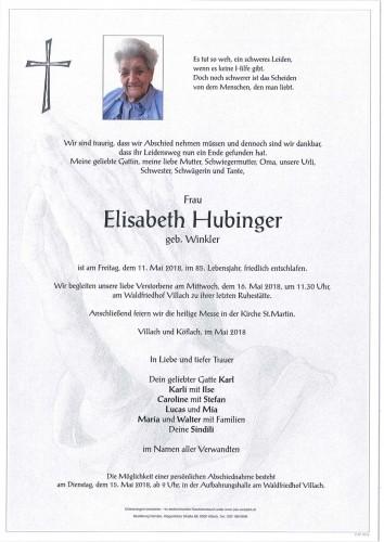 Elisabeth Hubinger