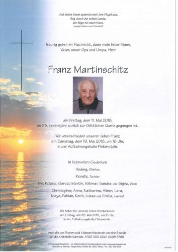 Franz Martinschitz