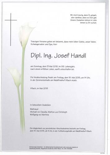 Dipl. Ing. Josef Handl