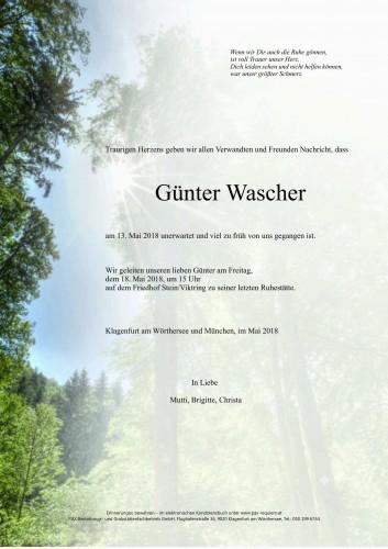 Günter Wascher