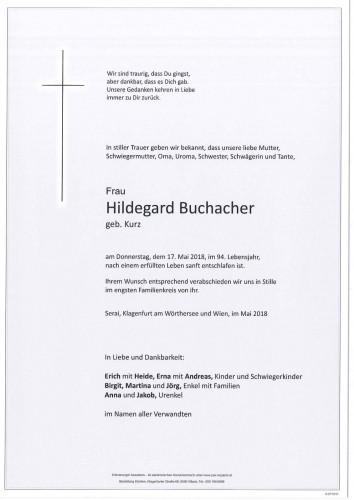 Hildegard Buchacher