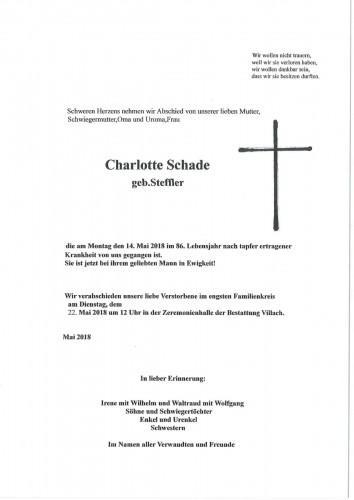 Charlotte Schade
