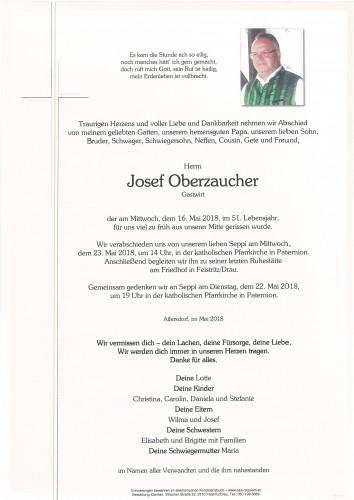 Josef Oberzaucher