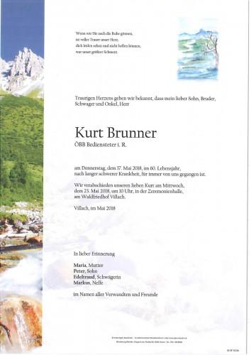 Kurt Brunner