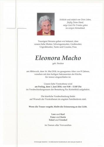 Eleonora Macho
