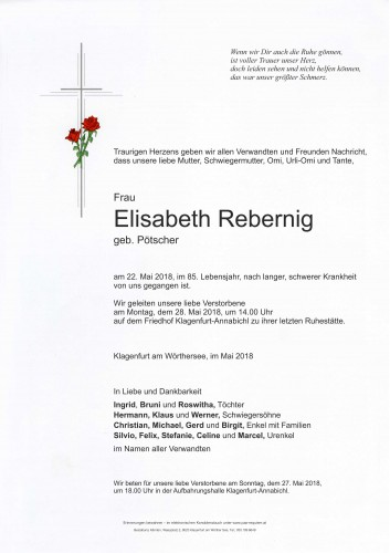 Elisabeth Rebernig