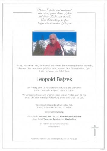 Leopold Bajzek