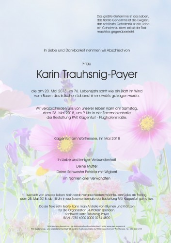 Karin Trauhsnig-Payer