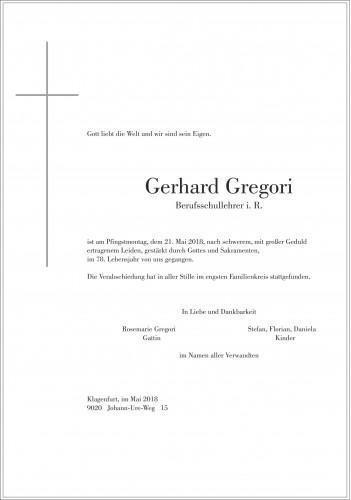 Gerhard Gregori