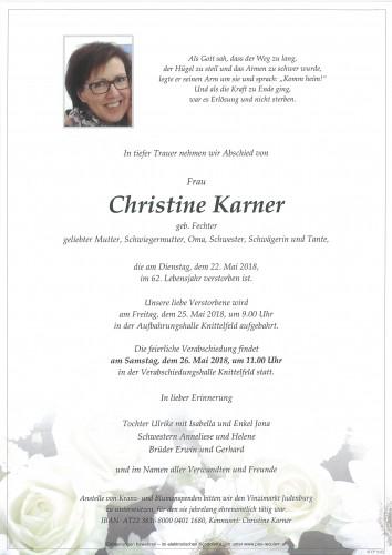 Christine Karner