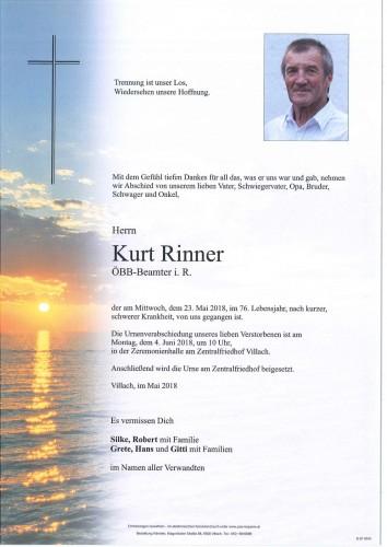 Kurt Rinner
