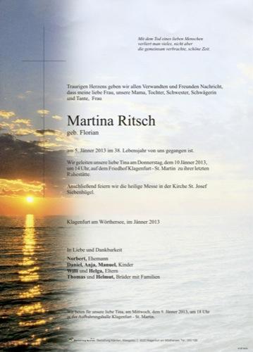 RITSCH Martina