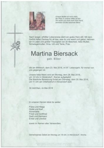 Martina Biersack  geb. Biber