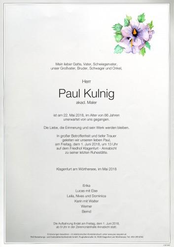 Paul Kulnig