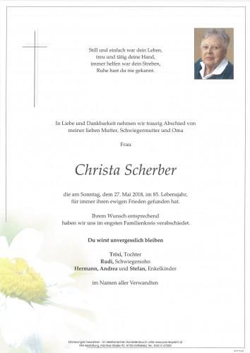 Christa Scherber