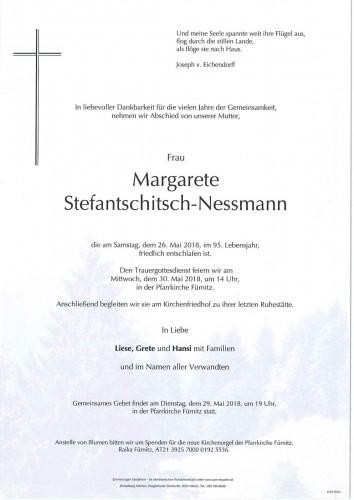 Margarete Stefantschitsch-Nessmann