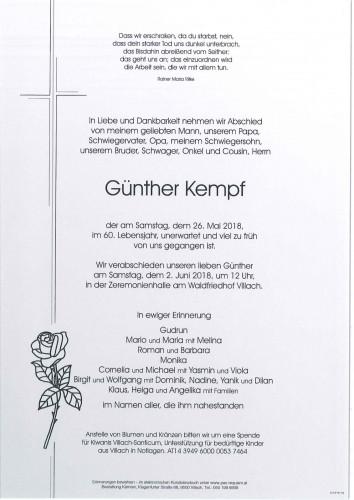 Günther Kempf