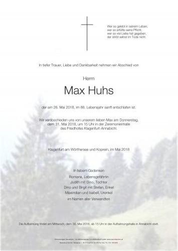 Max Huhs