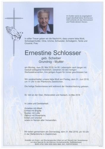 Ernestine Schlosser
