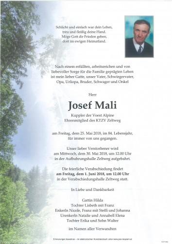 Josef Mali