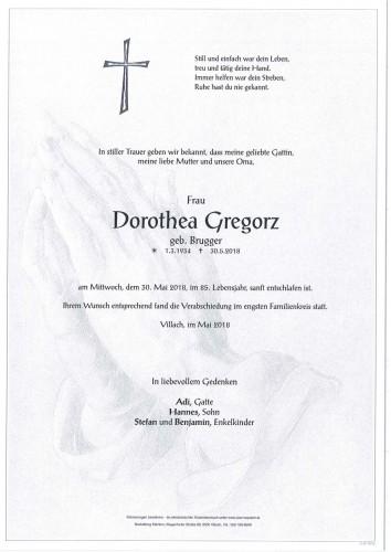 Dorothea Gregorz
