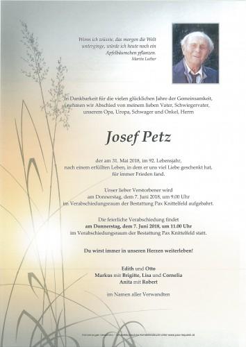 Josef Petz